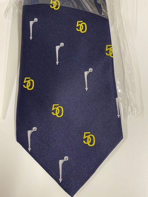 Exeter Hip 50th Tie